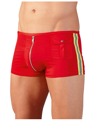 Svenjoyment firefighter trunks with zipper