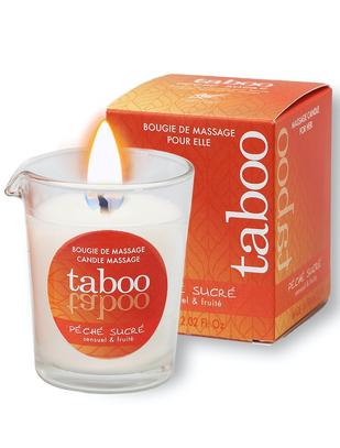 Taboo Péché Sucré массажная свеча (60 г)