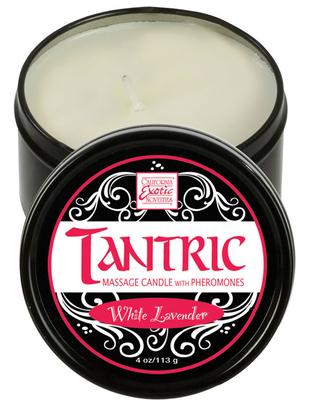CalExotics Tantric Pheromone Infused Massage Candle (113 g)