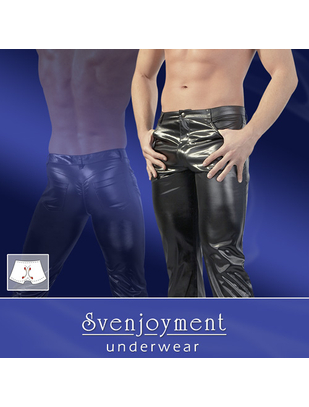 Svenjoyment Wetlook Pants