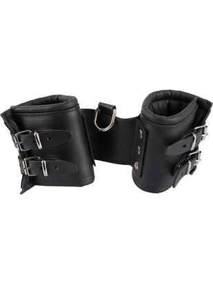 Zado Extra Wide Leather Handcuffs